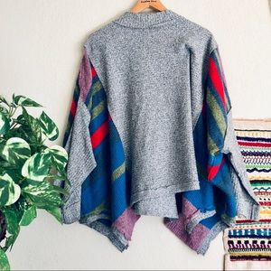Free people multi color thermal sweater